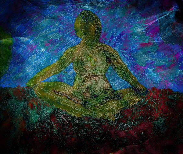 Practice Mixed Media - Meditation Practice by Dorothy Berry-Lound