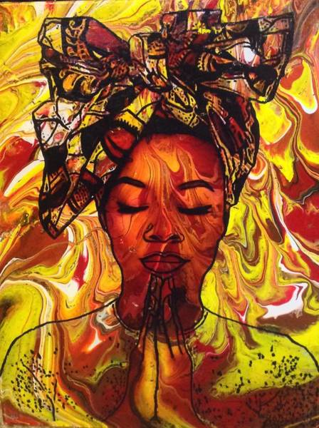 Painting - Meditations  by Karen Buford