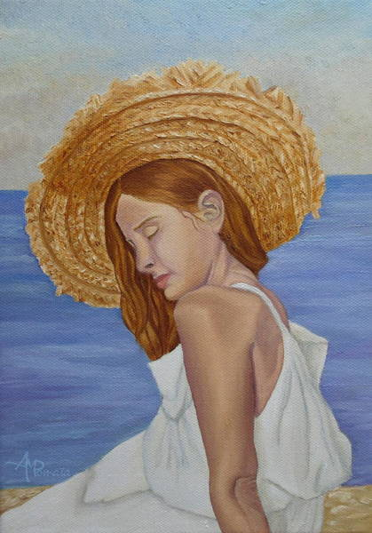 Painting - Mediterranean by Angeles M Pomata