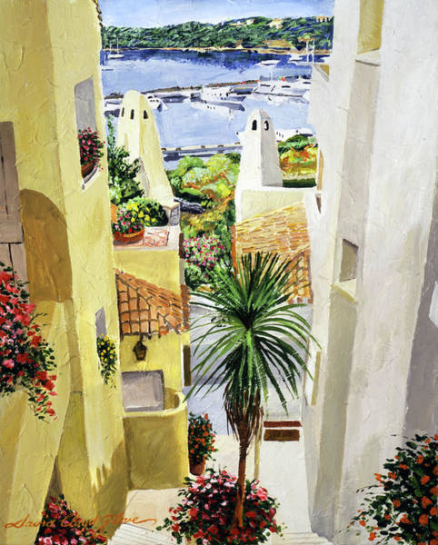 Wall Art - Painting - Mediterranean Early Morning by David Lloyd Glover