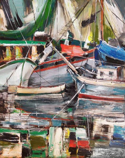 Painting - Mediterranean Impression by Stefano Popovski