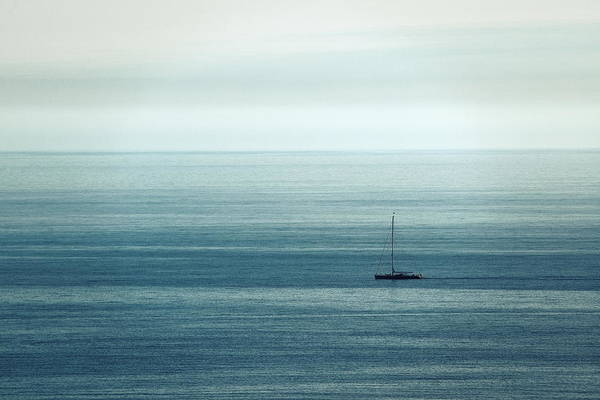 Photograph - Mediterranean Sea Boat by Songquan Deng