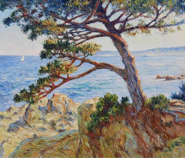 Painting - Mediterranean Sea by Pierre Van Dijk