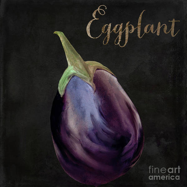 Wall Art - Painting - Medley Eggplant by Mindy Sommers