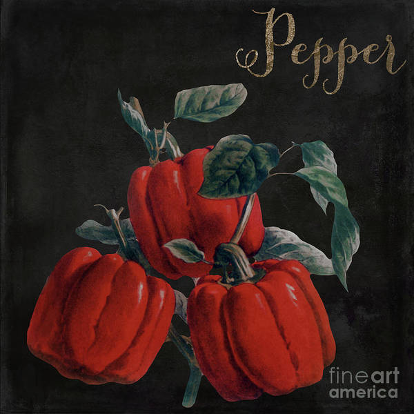 Wall Art - Painting - Medley Red Pepper by Mindy Sommers