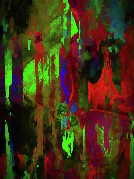Digital Art - Medulla Oblongata Abstract by Carlos Diaz