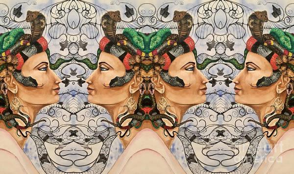 Digital Art - Medusa 4 by Mastiff Studios