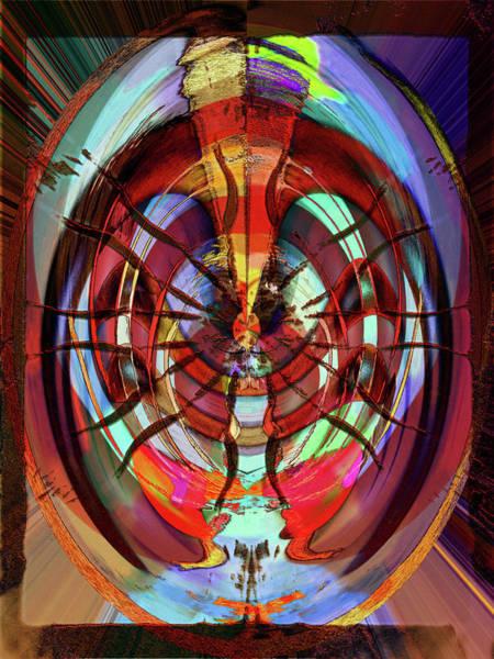 Digital Art - Medusa Abstract by Carlos Diaz