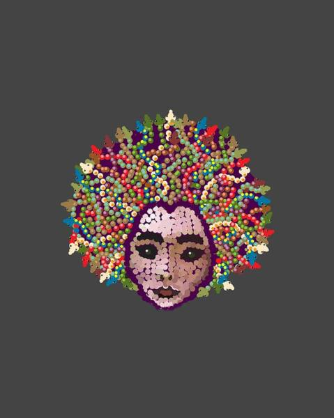 Digital Art - Medusa With Transparent Background by R  Allen Swezey