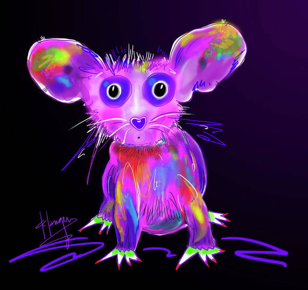 Painting - Meep by DC Langer