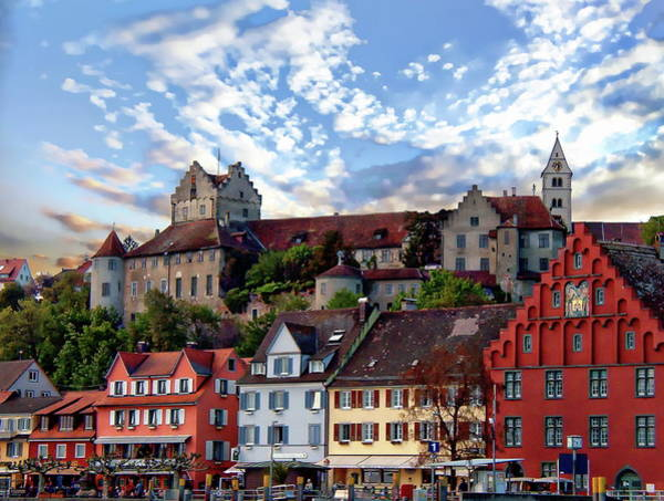 Photograph - Meersburg And Castle by Anthony Dezenzio