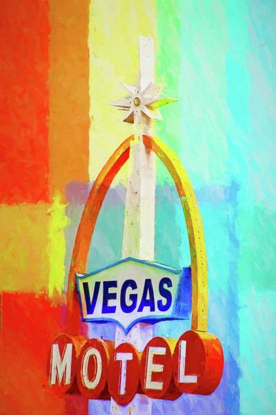 Photograph - Meet Me At The Vegas Motel by Alice Gipson