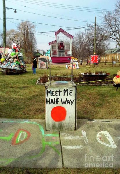 Digital Art - Meet Me Half Way by Walter Neal