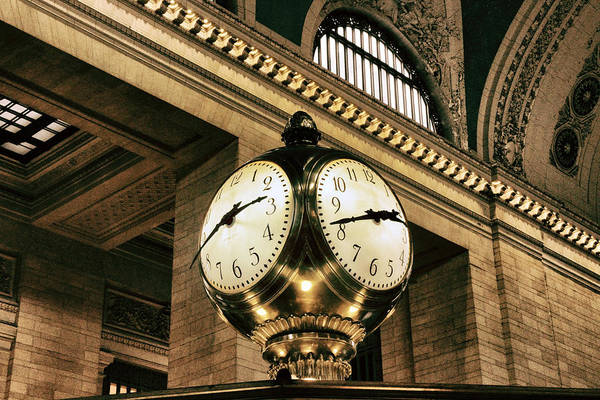 Photograph - Meet Me Under The Clock by Jessica Jenney