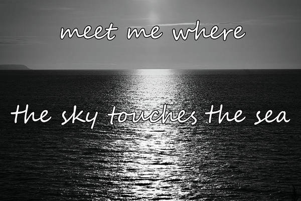 Photograph - Meet Me Where The Sky Touches The Sea by Colin Clarke