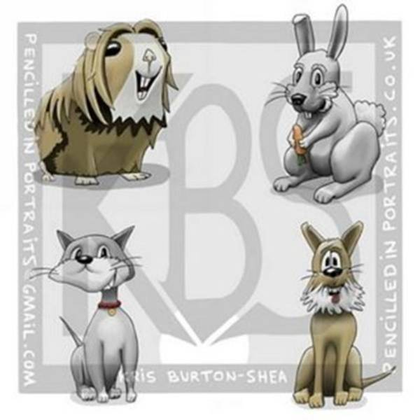 Cartoon Wall Art - Photograph - Meet The Critters!..4 Of My Creations by Kris Burton-Shea