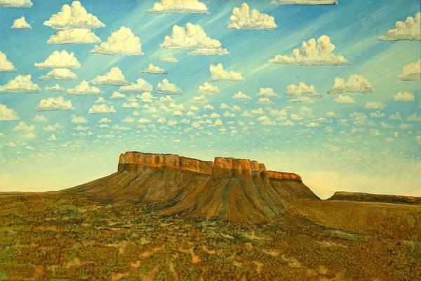 Meet The Posse At Little Crooked Mesa Art Print