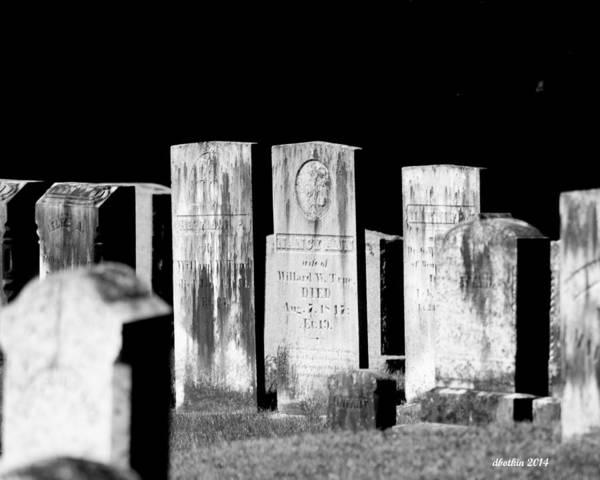 Wall Art - Photograph - Meeting House Graveyard 4 by Dick Botkin