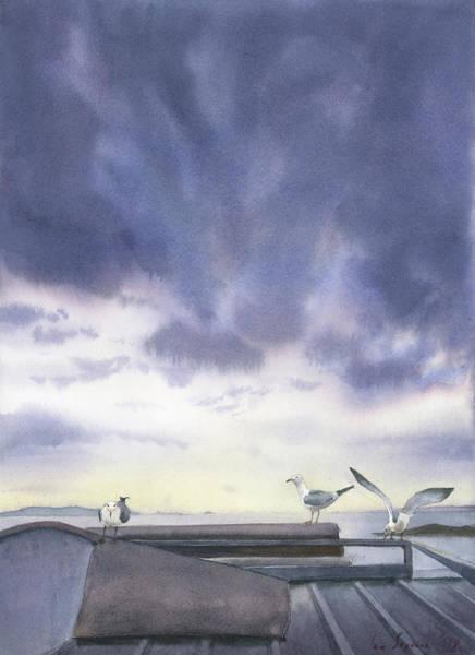 Painting - Meeting by Zapista Zapista