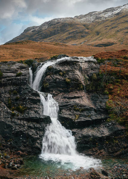 Glencoe Photograph - Meeting Of Three Waters by Dave Bowman