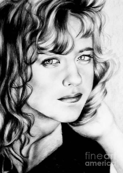 Drawing - Meg Ryan  by Georgia's Art Brush