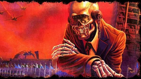 Megadeth Wall Art - Digital Art - Megadeth by Bert Mailer