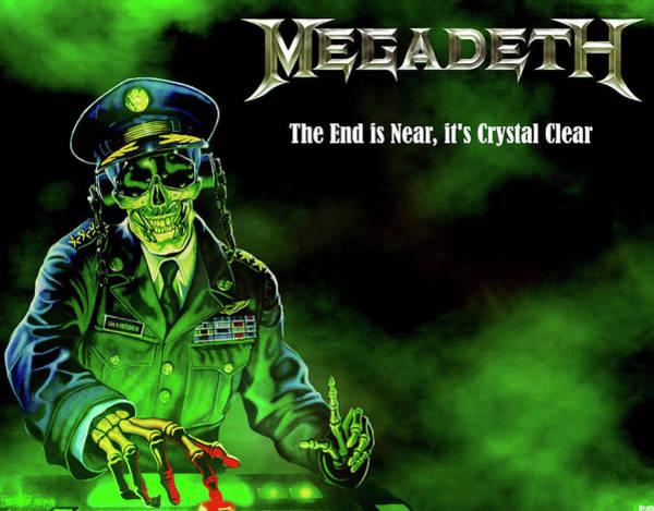 Megadeth Wall Art - Digital Art - Megadeth by Dorothy Binder