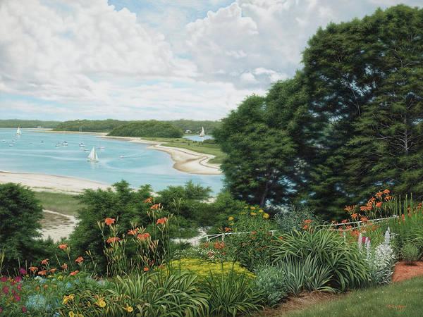 Falmouth Wall Art - Painting - Megansett Harbor Cape Cod by Julia O'Malley-Keyes