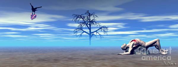 Digital Art - Melancholia 3  by Walter Neal
