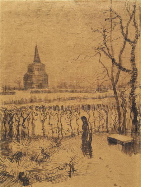 Russian Impressionism Wall Art - Painting - Melancholy, 1883 by Vincent Van Gogh