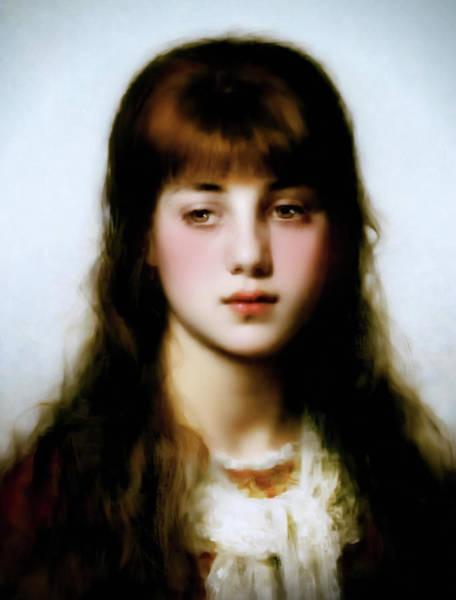 Painting - Melancholy Beauty by Isabella Howard