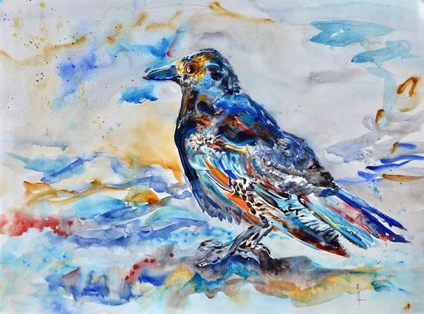 Painting - Melancholy Euphoricrow by Beverley Harper Tinsley