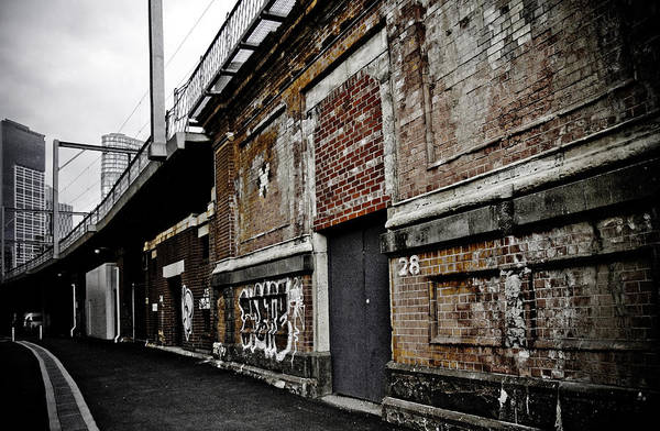 Jade Photograph - Melbourne Alley by Kelly Jade King