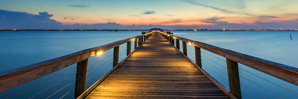 Photograph - Melbourne Beach Pier by Stefan Mazzola
