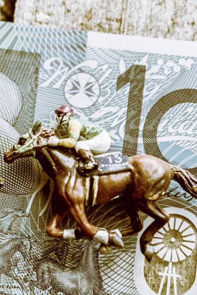 Rich Photograph - Melbourne Cup Wager by Jorgo Photography - Wall Art Gallery