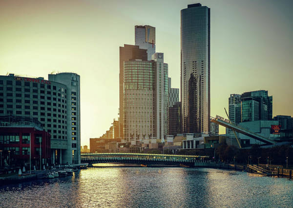 Photograph - Melbourne Morning II by Nisah Cheatham