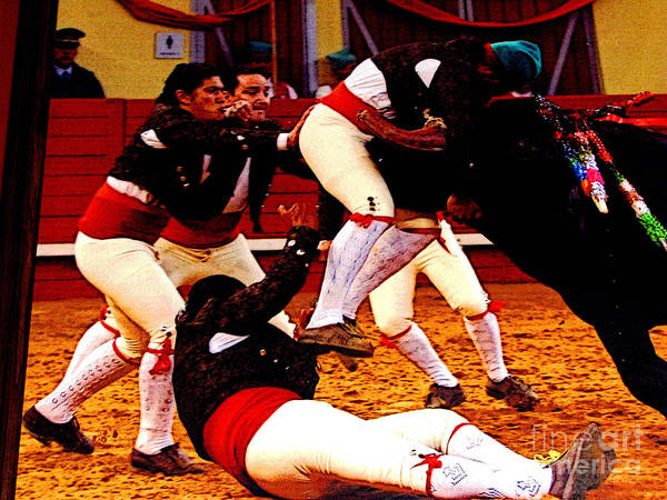 Matador Photograph - Melee by Mexicolors Art Photography