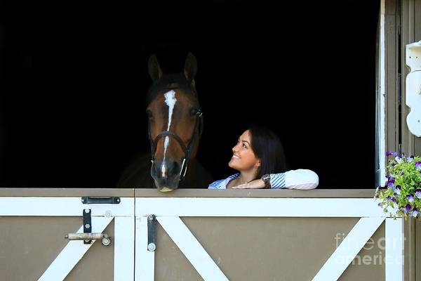 Photograph - Melissa-millie1 by Life With Horses
