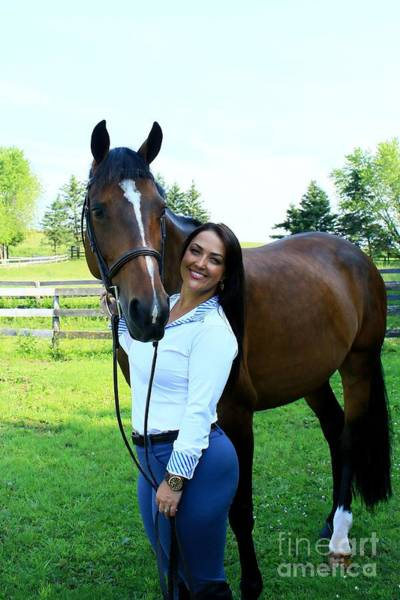 Photograph - Melissa-millie11 by Life With Horses