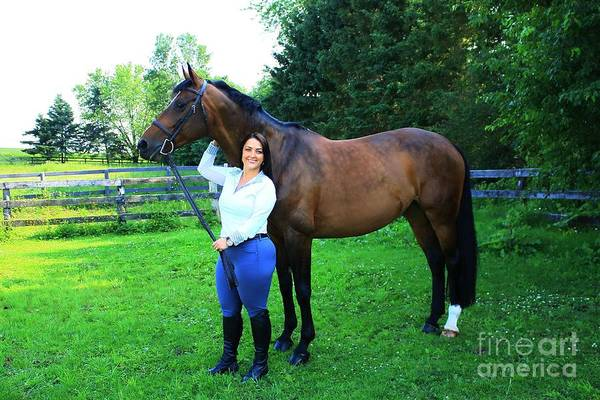 Photograph - Melissa-millie13 by Life With Horses