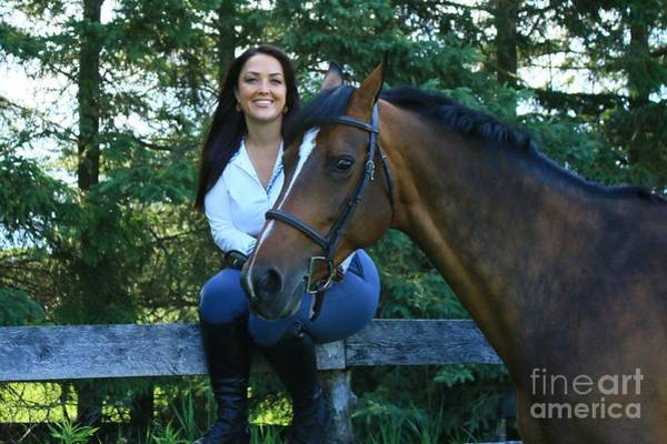 Photograph - Melissa-millie15 by Life With Horses
