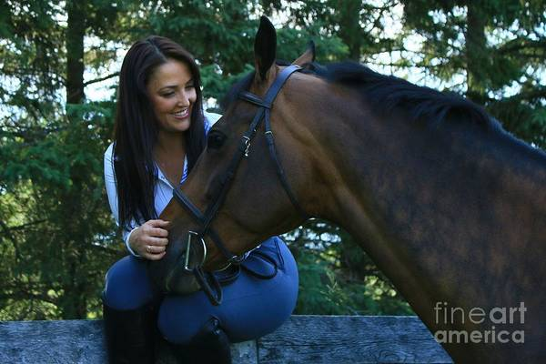 Photograph - Melissa-millie16 by Life With Horses