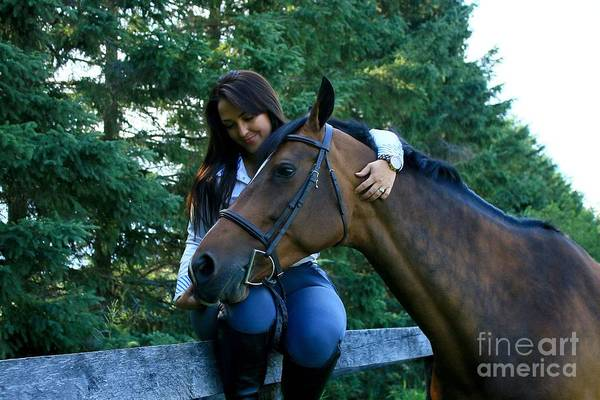 Photograph - Melissa-millie18 by Life With Horses