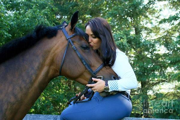 Photograph - Melissa-millie19 by Life With Horses
