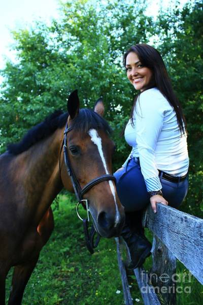 Photograph - Melissa-millie20 by Life With Horses