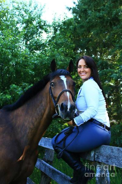 Photograph - Melissa-millie22 by Life With Horses