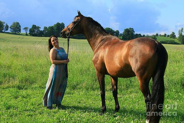 Photograph - Melissa-millie31 by Life With Horses