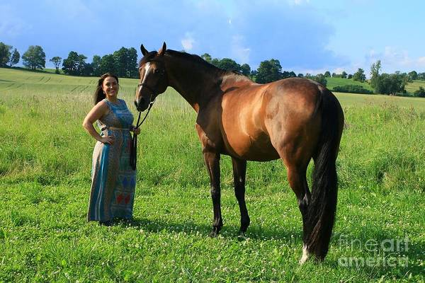 Photograph - Melissa-millie32 by Life With Horses