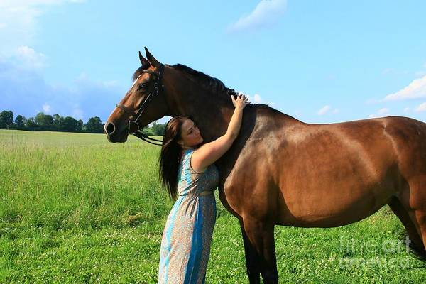 Photograph - Melissa-millie35 by Life With Horses