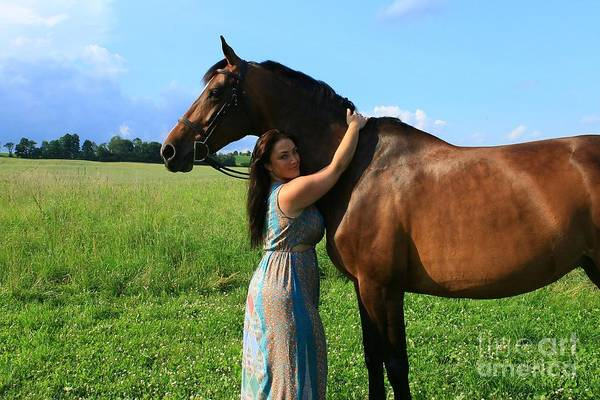 Photograph - Melissa-millie36 by Life With Horses